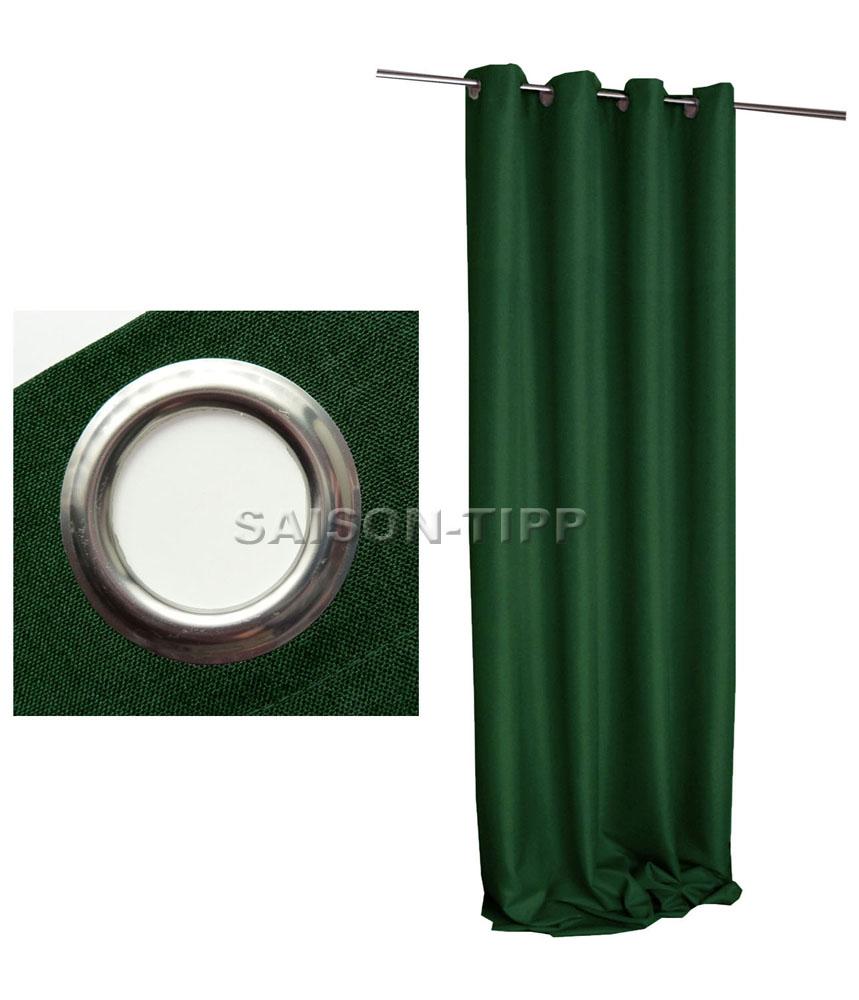 vorhang blickdicht leinen optik senschal 140x245 cm bergardine sen gardine ebay. Black Bedroom Furniture Sets. Home Design Ideas