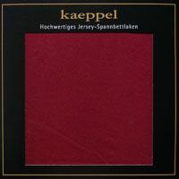 Jersey Spannbettlaken BURGUND Baumwolle Kaeppel #1675-315
