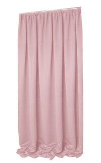 VERDUNKELUNG Vorhang Kräuselband ROSENHOLZ 140x245 cm #9009 (Dusty Pink)