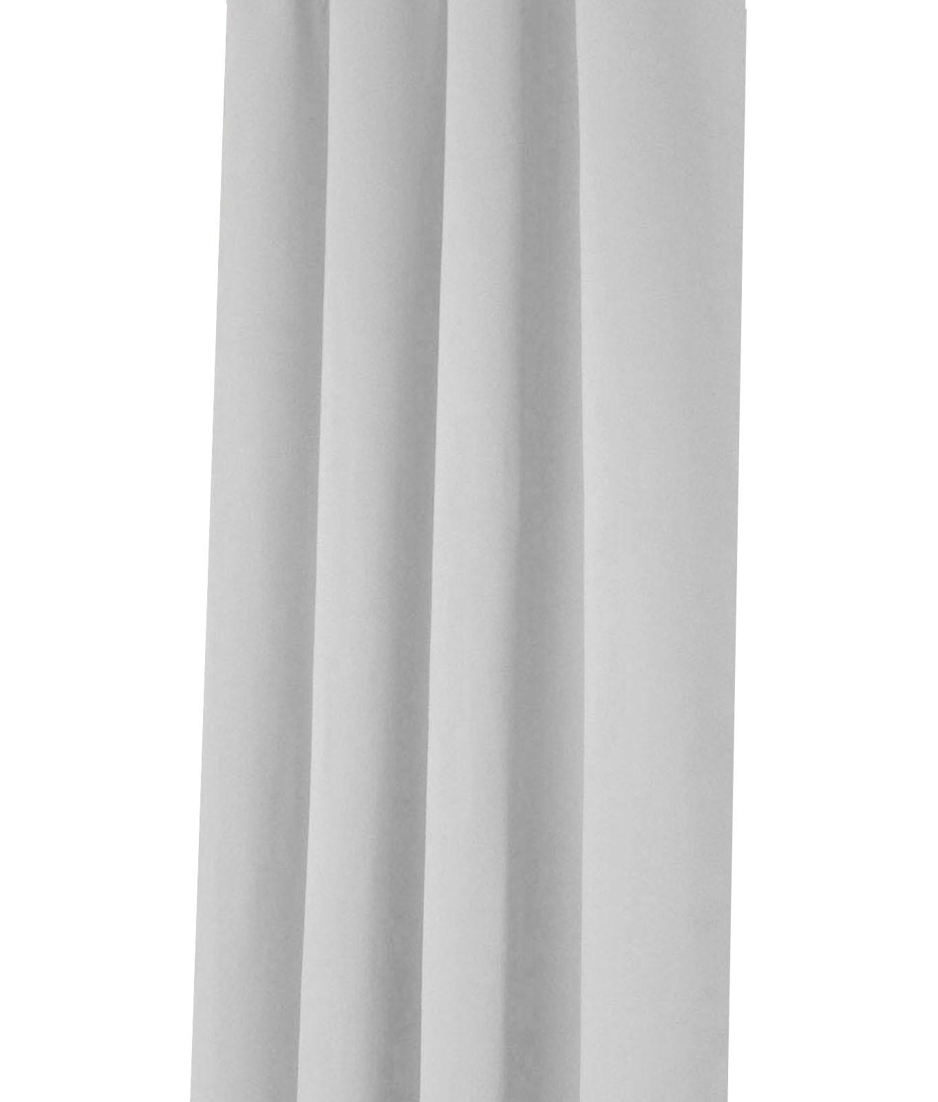 Vorhang-VERDUNKELUNG-Kraeuselband-Osen-Schlaufe-Thermo-Gardine-Blickdicht