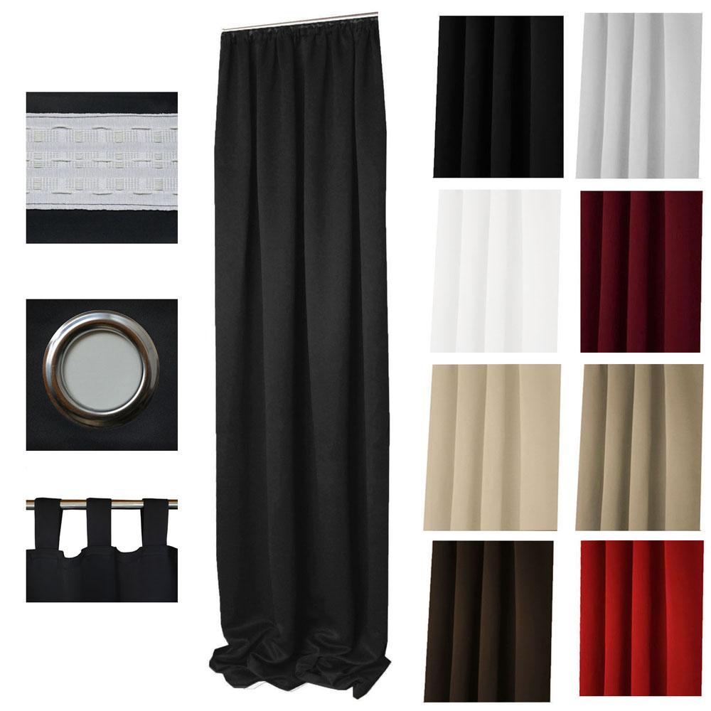 vorhang grau blickdicht. Black Bedroom Furniture Sets. Home Design Ideas