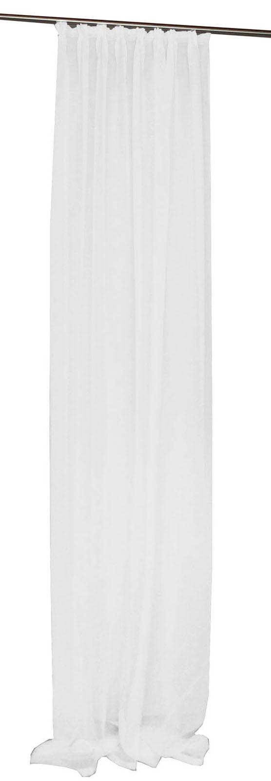 voile gardine lino halbtransparent kr uselband griffige qualit t ebay. Black Bedroom Furniture Sets. Home Design Ideas