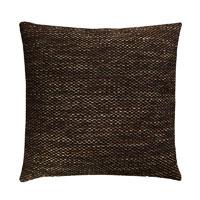 Kissenhülle GROBWEB Braun Struktur meliert grob Sofa Lounge