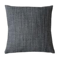 Kissenhülle Grobweb Grau Struktur Kissen grob meliert Sofa Lounge