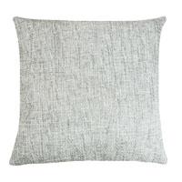 Kissenhülle Grobweb Hellgrau Struktur Kissen grob meliert Sofa Lounge