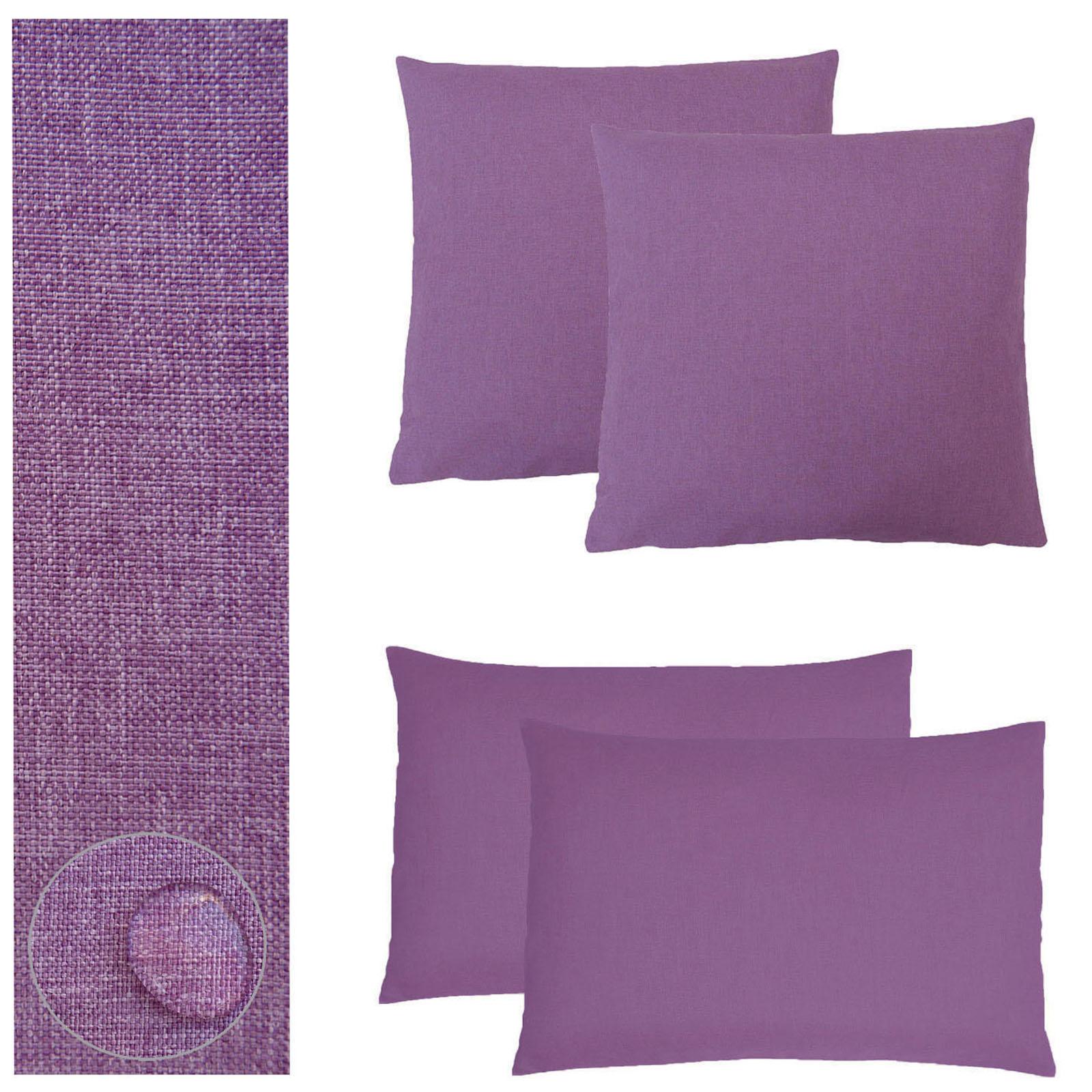 kissenh lle 2 st ck leinen optik 40x40 50x50 40x60. Black Bedroom Furniture Sets. Home Design Ideas
