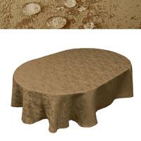 oval tischdecke b gelfrei. Black Bedroom Furniture Sets. Home Design Ideas