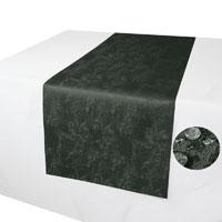 MELIERT Tischläufer GRAU 40x140 cm Lotuseffekt