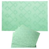 4 x Tischset Dakota Mint abwaschbar Platzset d-c-table catania #mint