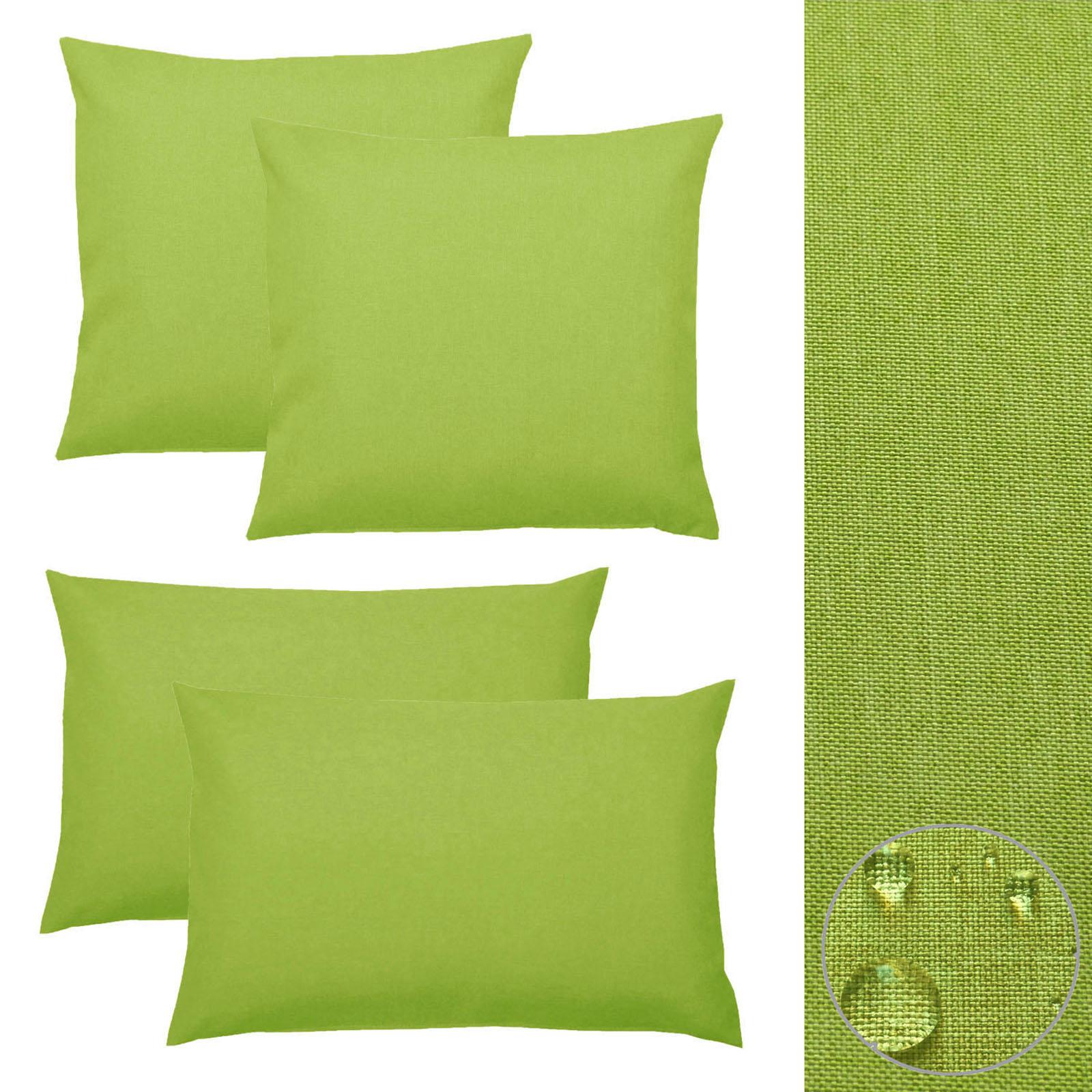 kissenh lle 2 st silver leinen optik kissenbezug 40x40 50x50 40x60 sofa kissen ebay. Black Bedroom Furniture Sets. Home Design Ideas
