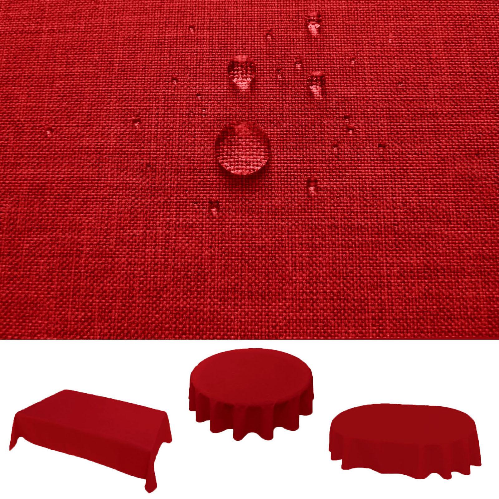 leinen tischdecke rund gallery of textil tischdecke leinenoptik cm rund mit fleckschutz grau. Black Bedroom Furniture Sets. Home Design Ideas