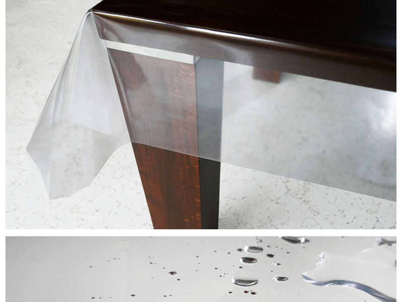 d c table transparent tischdecke 0 2mm geruchsneutral lebensmittelecht. Black Bedroom Furniture Sets. Home Design Ideas
